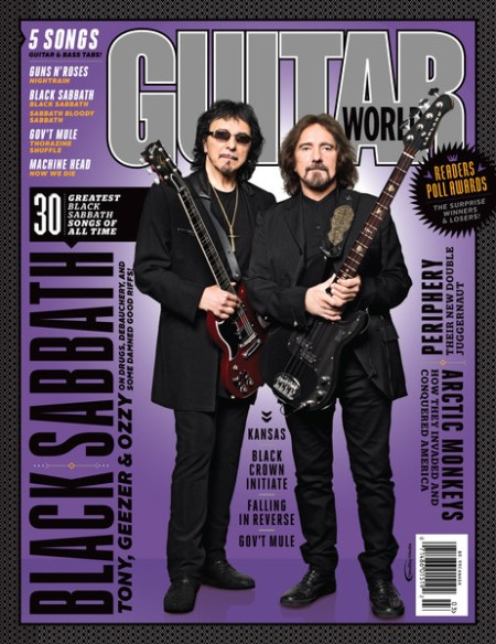 Black Sabbath - Guitar World - March - 2015 - #02BSMO