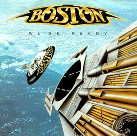 Boston - We're Ready - promo single cover sleeve - #1987BTSMO