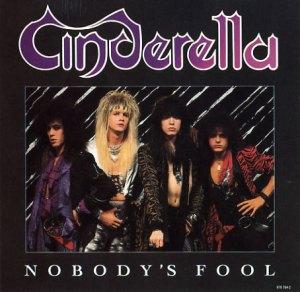 Cinderella - Nobodys Fool - promo single cover sleeve - #1986CMO