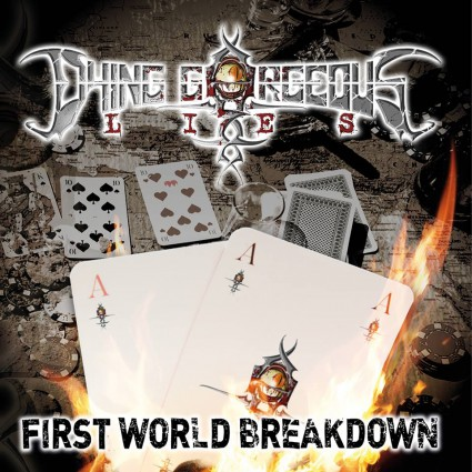 Dying Gorgeous Lies - First World Breakdown - promo cover pic - #2015DGLMOM