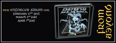 Enforcer - From Beyond - promo album banner - 2015 - EMOM33