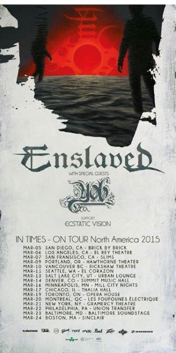 Enslaved Uk Tour