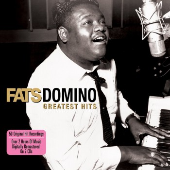 Fats Domino - Greatest Hits - promo album cover pic - #777FDMO0226
