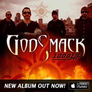 Godsmack - 1000hp - promo album flyer - itunes - #2014GMOI