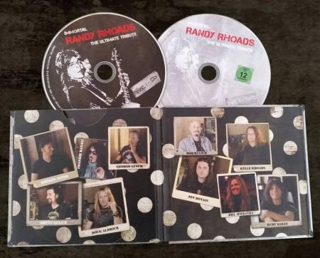 Immortal Randy Rhoads - The Ultimate Tribute - deluxe digipak - promo pic - #2015RRDDMO