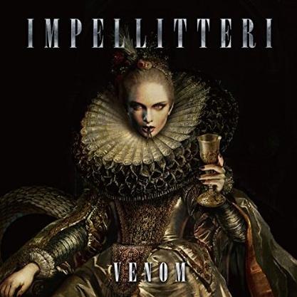 Impellitteri - Venom - promo album cover pic - 2015 - #3300MOI