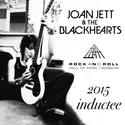 Joan Jett & The Blackhearts - 2015 Inductee - Rock And Roll Hall of Fame - promo photo