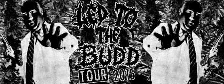 Led To The Budd Tour 2015 - promo banner - Led To The Grave - #33MO