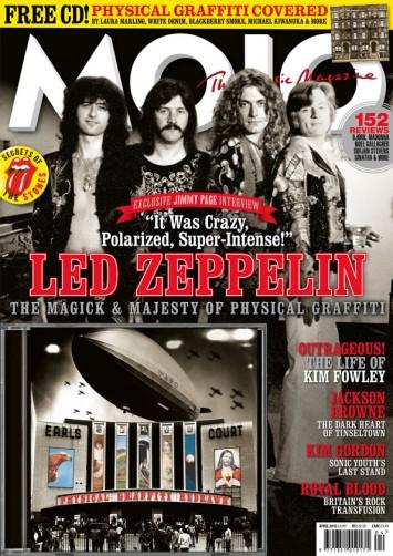 Led Zeppelin - MOJO - magazine cover feature - February 24 - 2015 - #777LZJBMO