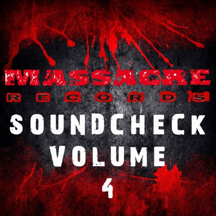 Massacre Records - Soundcheck Volume 4 - promo cover pic - #2015MRMO