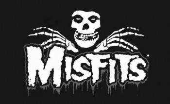 Misfits - Classic band logo - Crimson Ghost - #1302MOMJO