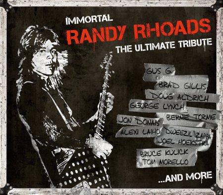 Randy Rhoads - Immortal The Ultimate Tribute - promo cover pic - #2015RRMO