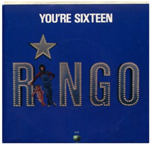 Ringo Starr - You're Sixteen - promo 45rpm cover sleeve - #777RSMOCS
