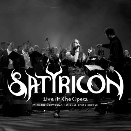 Satyricon - Live At The Opera - promo album cover pic - #2015SSFMO