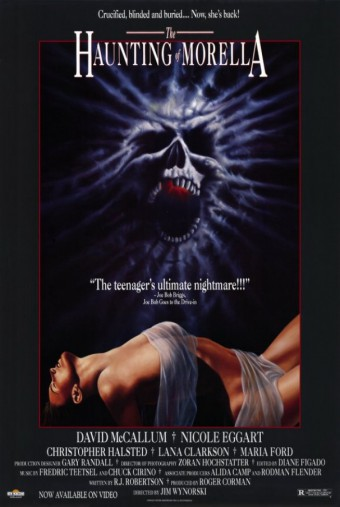The Haunting Of Morella - promo movie poster pic - #1990MOMP