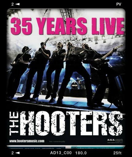 The Hooters - 35 Years Live - promo tour flyer - #2015THMO33