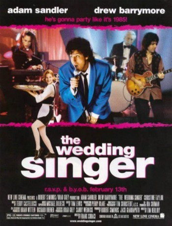 The Wedding Singer - promo movie poster pic - #1998ASDBMO
