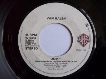 Van Halen - Jump - 45rpm - promo pic - #1984VHMO0225