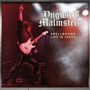 Yngwie J. Malmsteen - Spellbound - Live In Tampa - promo CD cover pic - #2014YJMMO