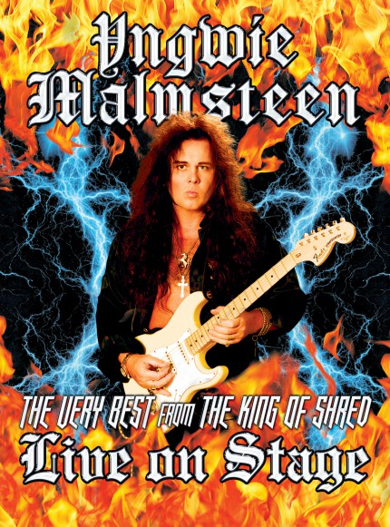 Yngwie Malmsteen - Live On Stage - promo tour flyer - #2015 - June - MO