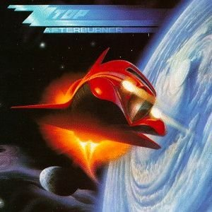 ZZ Top - Afterburner - promo album cover pic - #1986MO