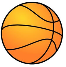 Basketball - clipart - #0323MO