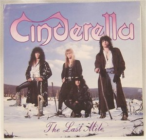 Cinderella - The Last Mile - promo 45rpm - cover sleeve - #1989CMO