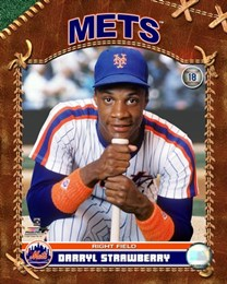 Darryl Strawberry - Mets - promo poster pic - #33DSMO0312