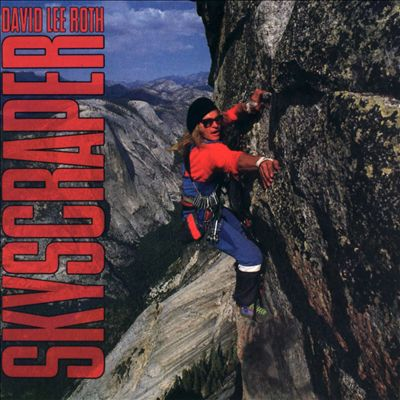 David Lee Roth - Skyscraper - promo album cover pic - #1988DLRMO0312