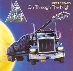 Def Leppard - On Through The Night - promo album cover pic - #1980DLMO