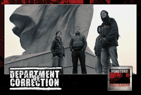 Department Of Correction - Promo band - album cover banner - 2015 - #663DOCMO