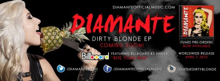 Diamante - Dirty Blonde EP - promo banner pic - 2015 - #0407DIHMO19