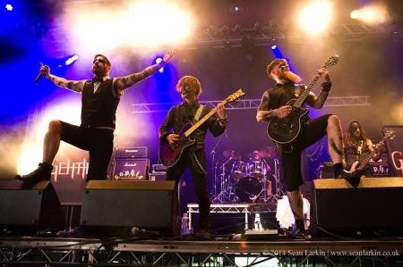 Gehtika - live band promo pic - 2015 - #3909GMO