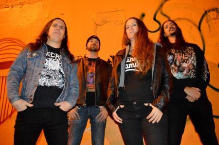 Gruesome - promo band pic - 2015 - credit Niuvis Martin - #0093300MO