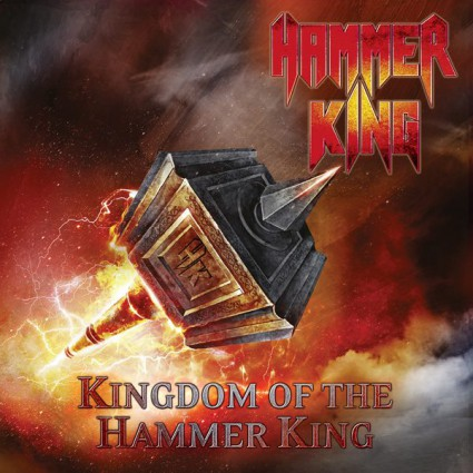 Hammer King - Kingdom Of The Hammer King - promo album cover pic - 2015