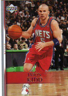 JASON KIDD - Nets - UD - 2007-2008 - basketball card - promo pic - #0323JKMO