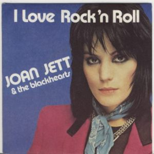 Joan Jett & The Blackhearts - I Love Rock n Roll - 45rpm cover pic - 1982 - #1JJMO