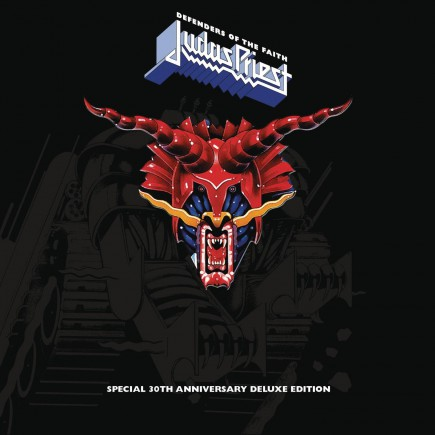 Judas Priest - Defenders Of The Faith - special 30th anniversary deluxe edition - promo cover pic - 2015 - #84JPDOTFMO