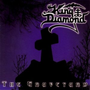 King Diamond - The Graveyard - promo album cover pic - original cover - 1996 - #90KDMOTG