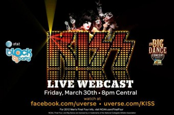 Kiss - 2012 - Final Four Block Party - Mens NCAA - basketball - promo banner