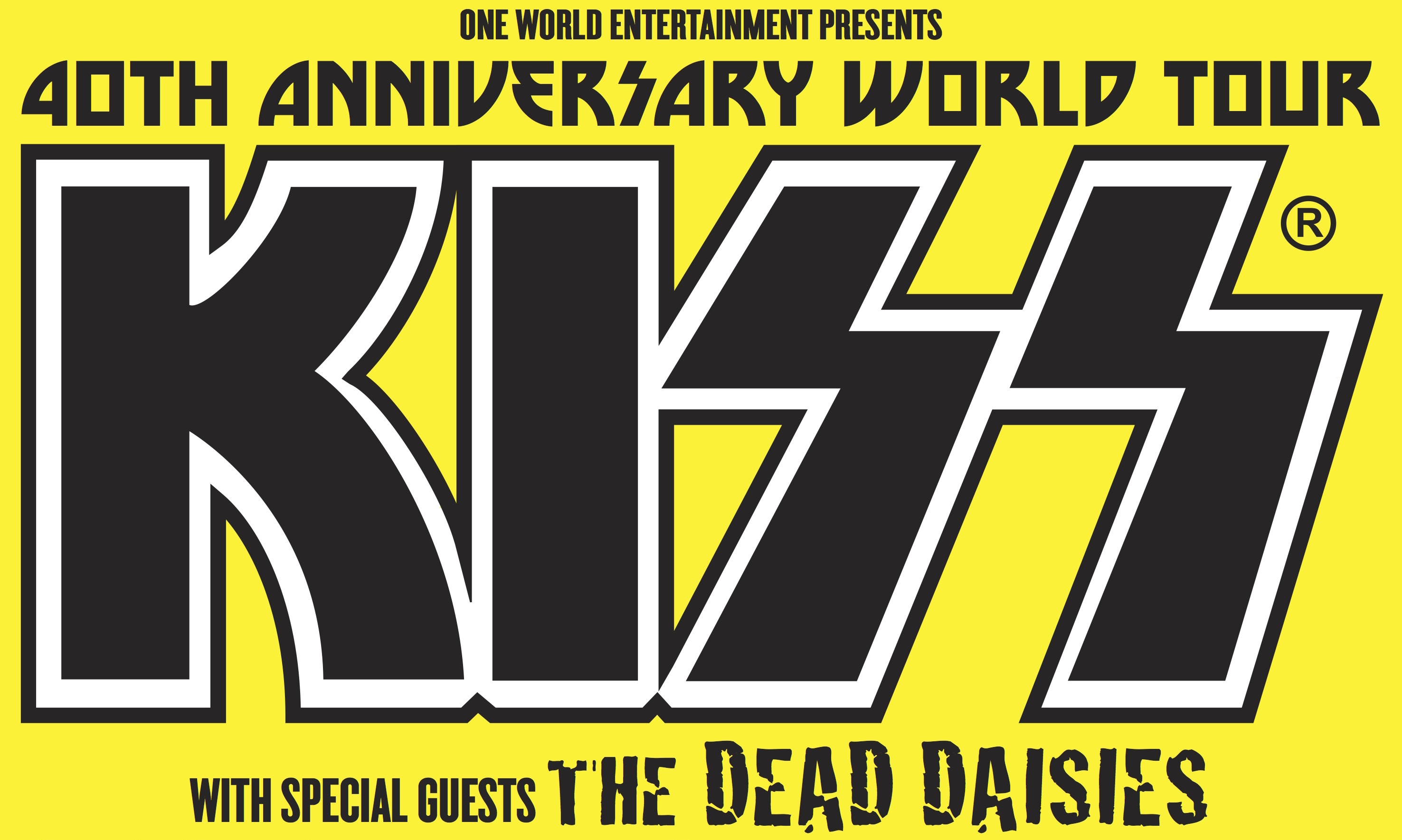 Banned Bands In Australia Kiss Dead Daisies World Tour Promo Banner Ddkmo