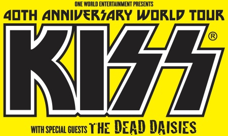 Kiss - Dead Daisies - world tour - 2015 promo banner - #00833DDKMO