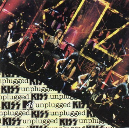 Kiss - mtv unplugged - promo cover pic - #1996KMTVMO