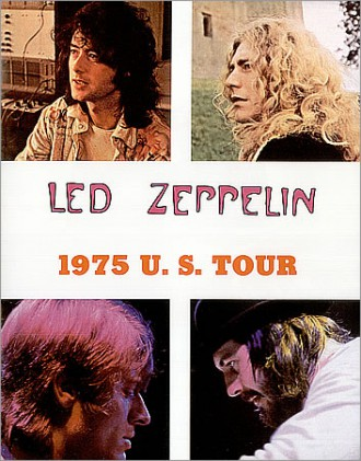 Led Zeppelin - 1975 US Tour - promo program cover pic - #LZMO19750311