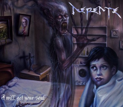 Nepente - I Will Get Your Soul - promo album cover pic - 2015 - #0323NMOBM
