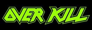 Overkill - classic band logo - green - #90OKMOBE