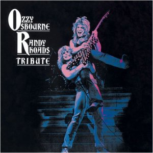 Ozzy Osbourne - Randy Rhoads - Tribute - promo album cover pic - #9393OORRTMO03