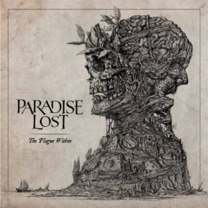Paradise Lost - The Plague Within - promo album cover art - 2015 - #03PLMO