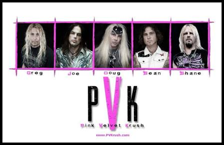 Pink Velvet Krush - band promo photo - 2015 - #33PVKHVMMO03