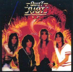 Quiet Riot - debut self titled album - promo cover pic - #77QRRRMO